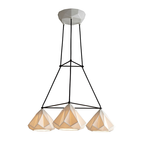 Hatton 1 Triangular Grouping Chandelier
