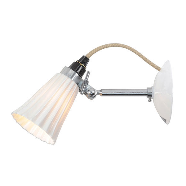 Hector Small Pleat Wall Lamp