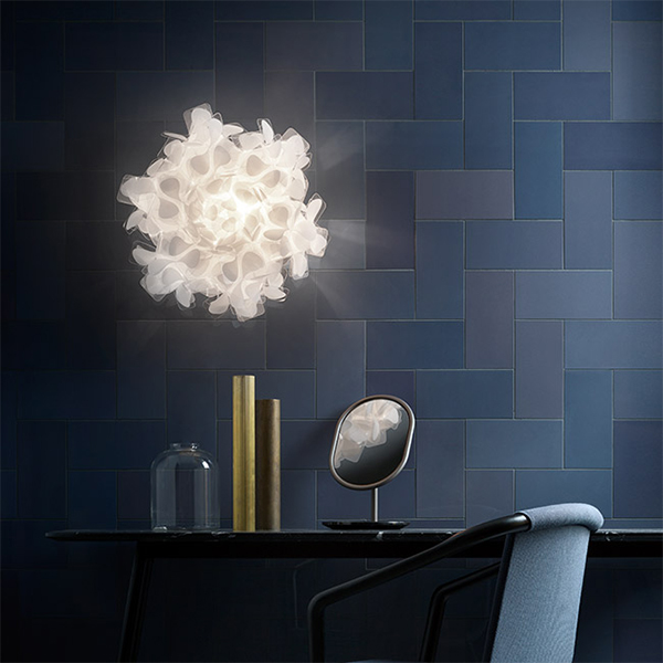 Black Clizia Large Ceiling Lamp Led Without Dimmer By Slamp