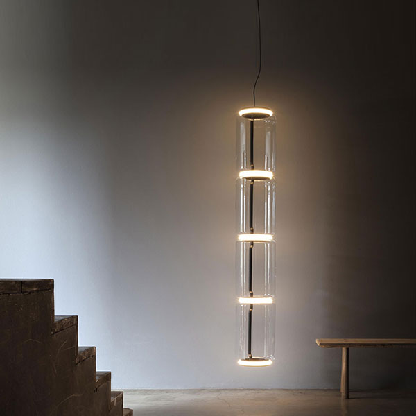 Noctambule 4 Low Cylinder Suspension Lamp