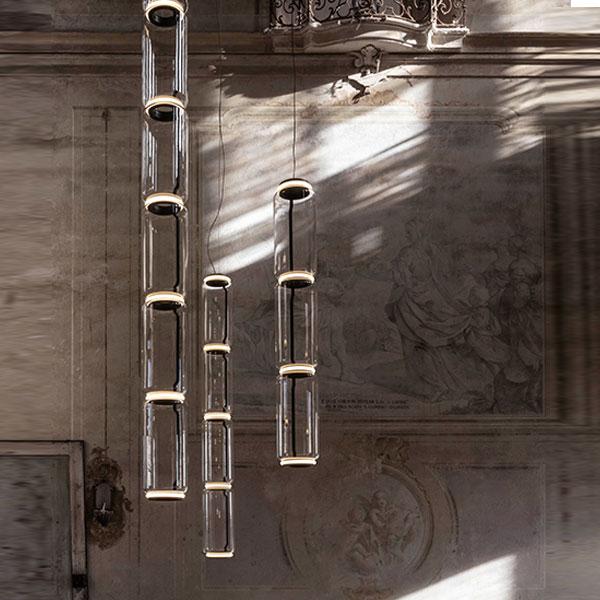 Noctambule 5 High Cylinder Suspension Lamp