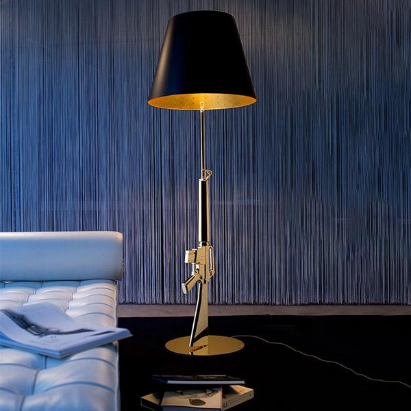 Guns - Lounge Gun Floor Lamp