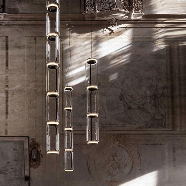 Noctambule 3 High Cylinder Suspension Lamp