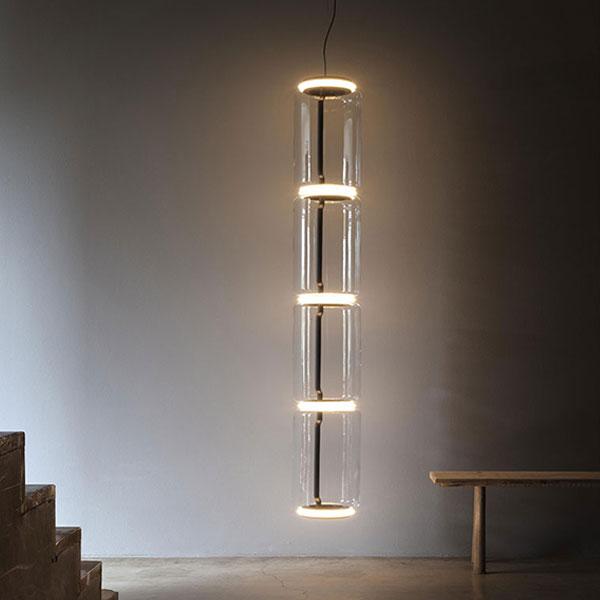 Noctambule 4 High Cylinder Suspension Lamp