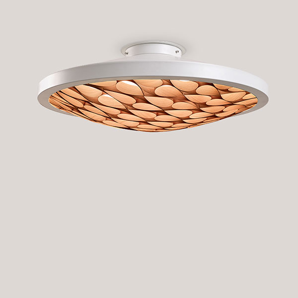 Cervantes Ceiling Lamp - Matt White