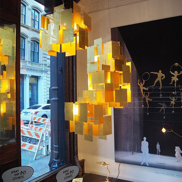 1000 Karat Blau Suspension Lamp