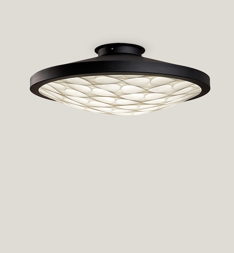Cervantes Ceiling Lamp - Matt Black
