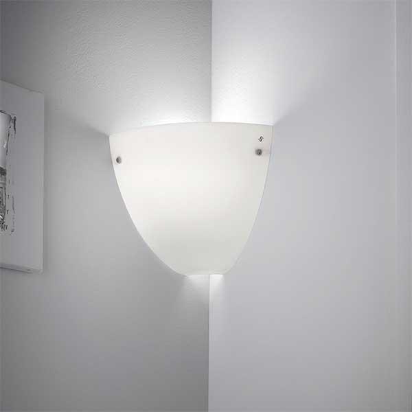 Corner Wall Lamp