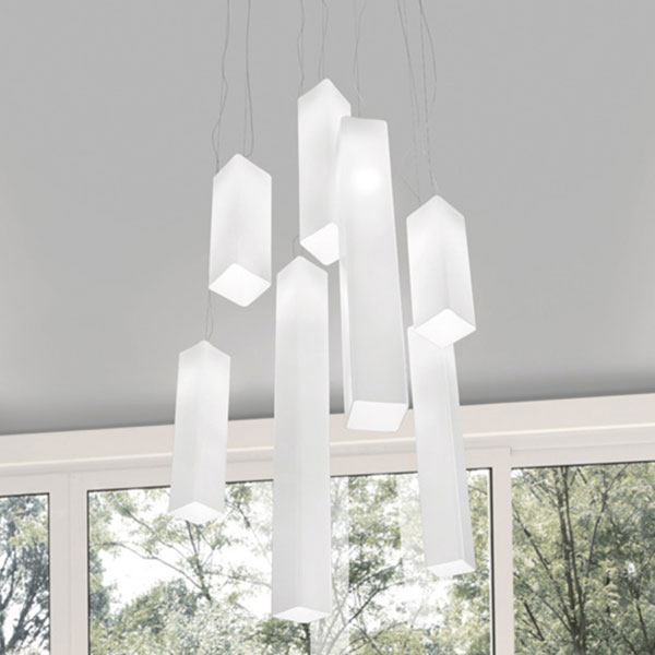 Tubes 40 Suspension Lamp