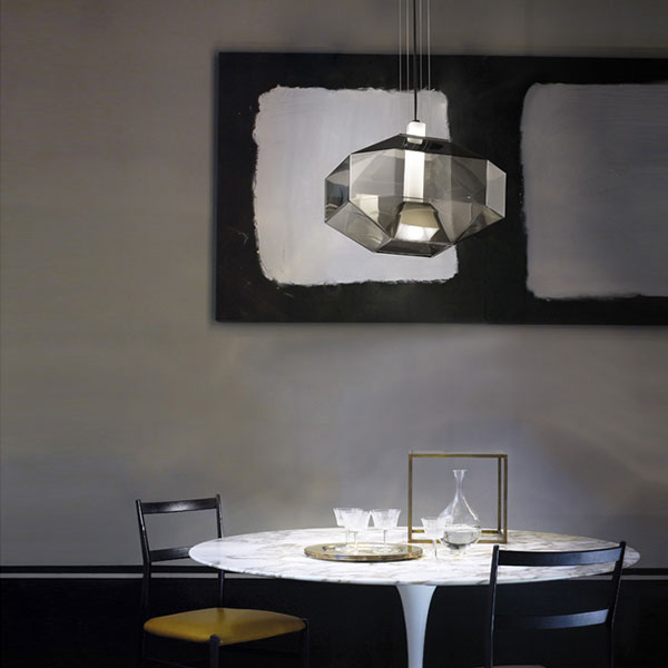 Stone Suspension Lamp