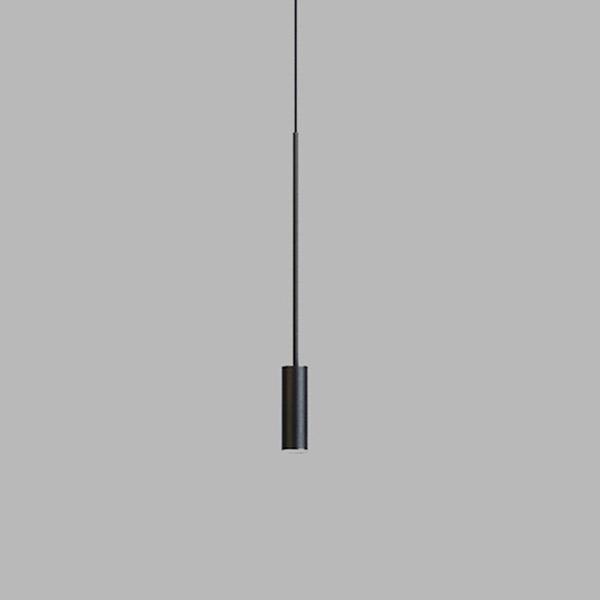 Volta Suspension Lamp T-3534R - With Black Canopy