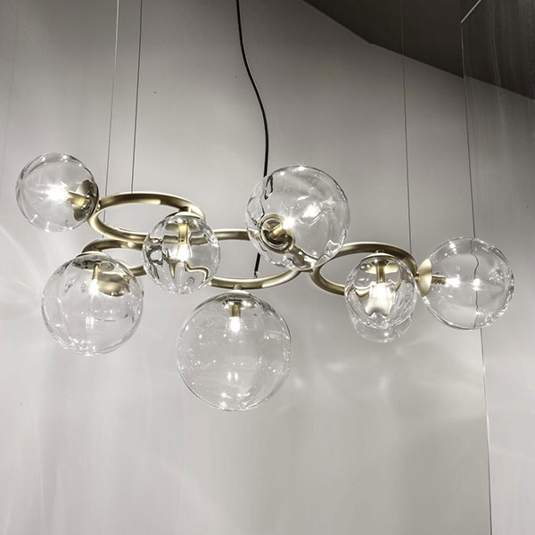 Puppet Ring 9 Suspension Lamp