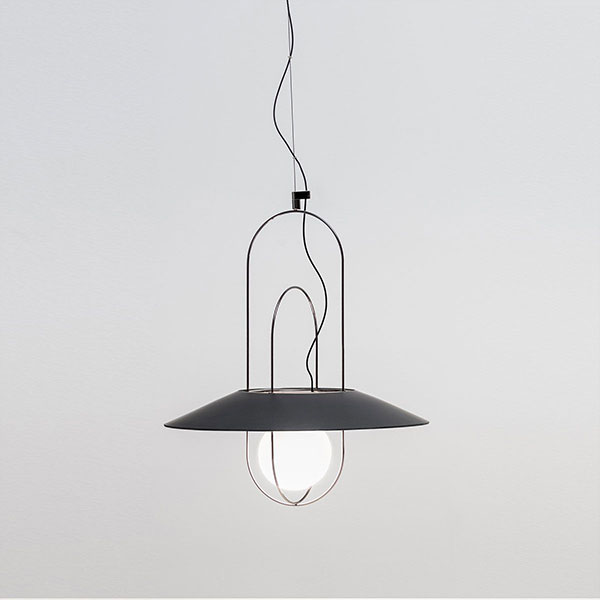 Setareh Small Suspension Lamp - Glass Diffuser