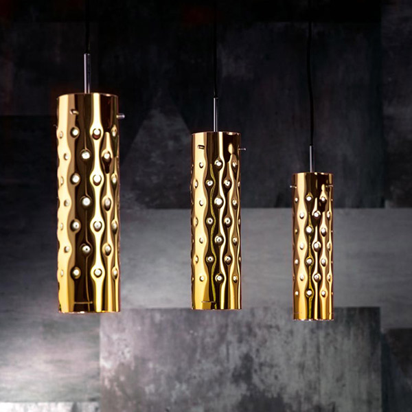 Dimple Triple Suspension Lamp