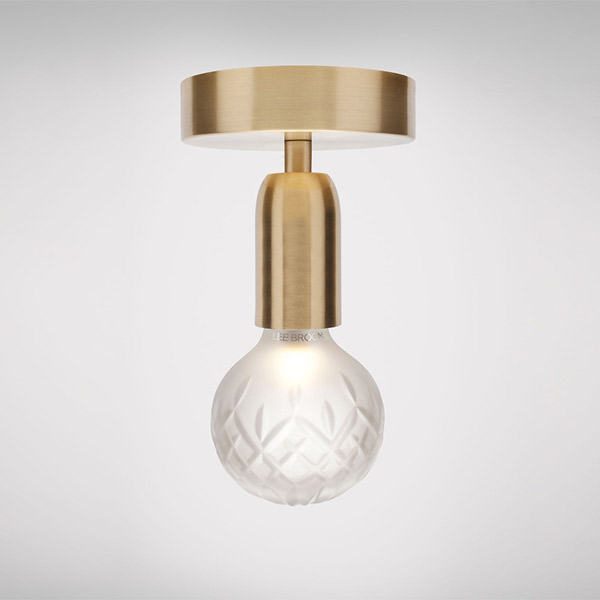 Crystal Bulb Ceiling Lamp - Frosted