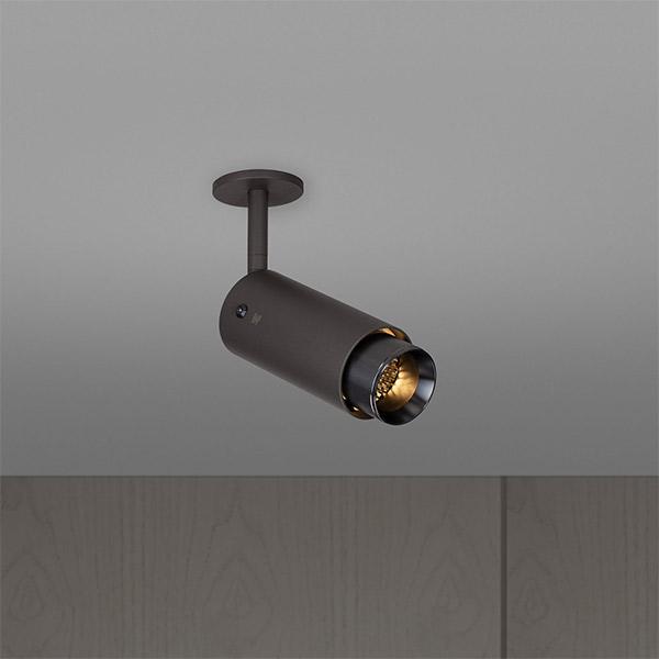 Exhaust Spot Ceiling Lamp - Graphite & Gun Metal