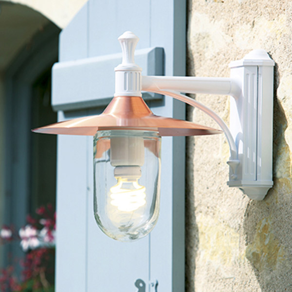 Montana Wall Lamp Outdoor - With Clear Glass