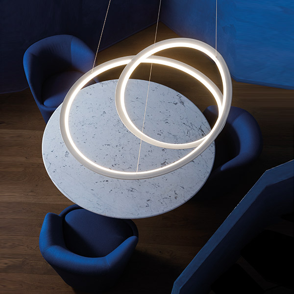 Kepler Suspension Lamp With Uplight