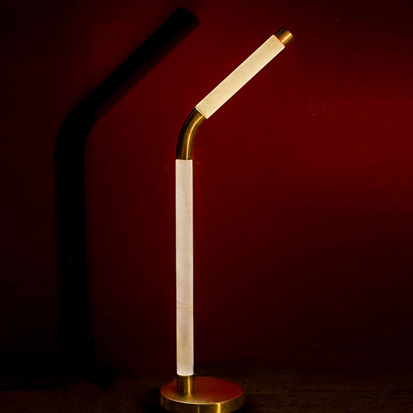 The Bendy Table Lamp - Carving 3