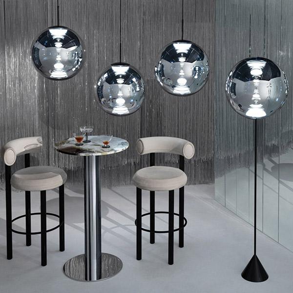 Globe Suspension Lamp