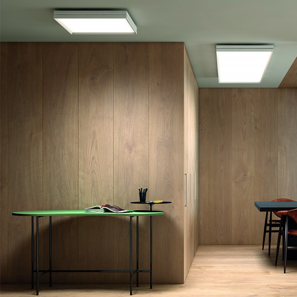 Lite Square Ceiling Lamp - 110 x 110 cm