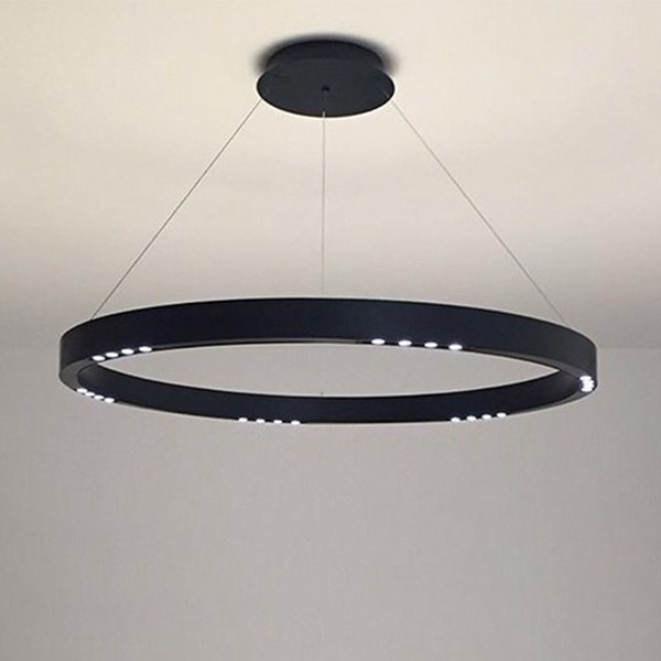 R2 S120 Suspension Lamp - With Flat Canopy