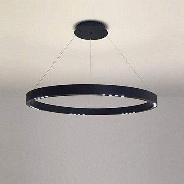 R2 S60 Suspension Lamp - With Flat Canopy