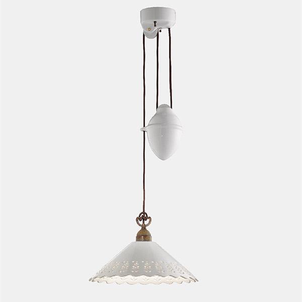 Fior Di Pizzo Rise and Fall Suspension Lamp - B