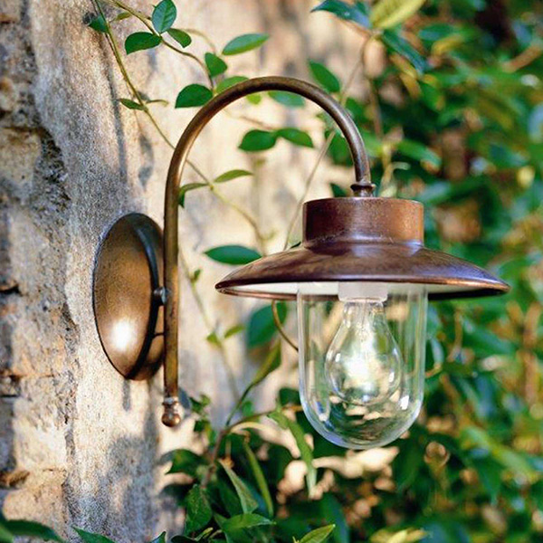 Calmaggiore Outdoor Wall Lamp - A