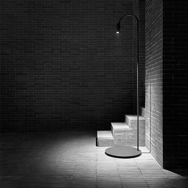 Caule 3 Outdoor Floor Lamp
