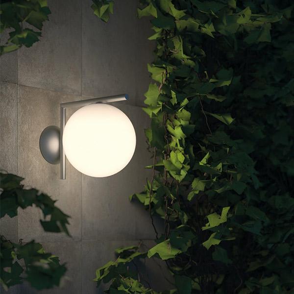 IC 2 Lights Wall Outdoor Lamp