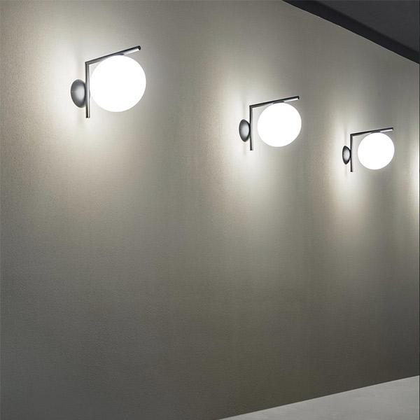 IC 1 Lights Wall Outdoor Lamp
