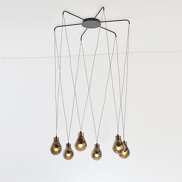 Rain Suspension Lamp - 7379/6