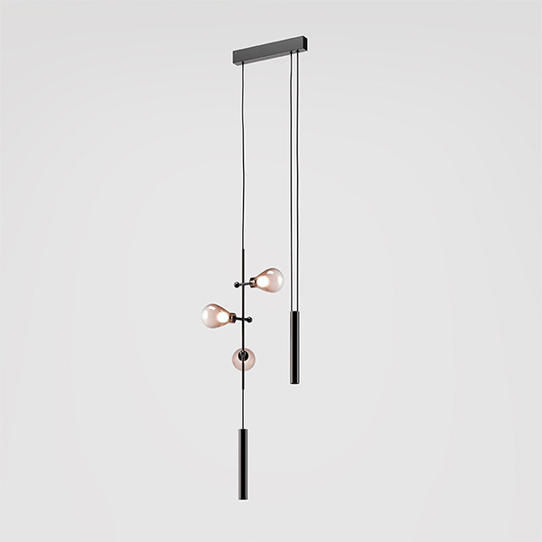Zoe Suspension Lamp - 7383/3