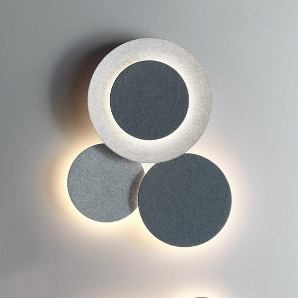 Puck Wall Art 5491 Lamp - Triple