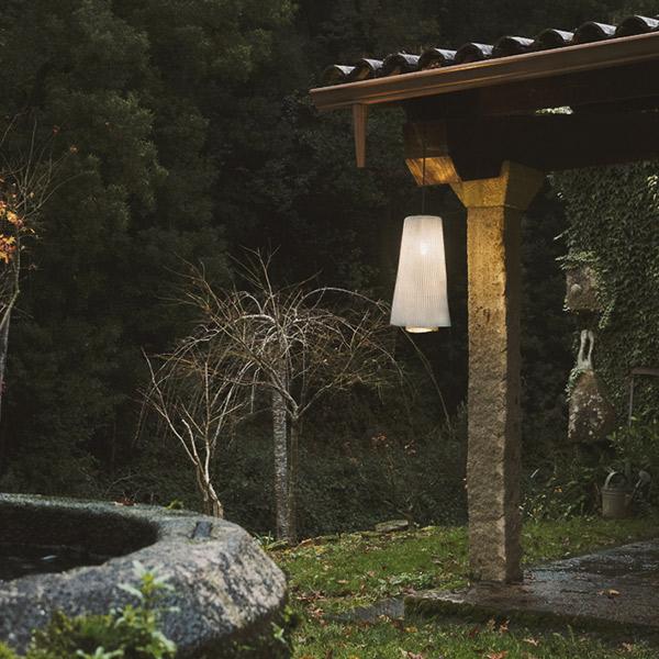 Tempo Andante Outdoor Suspension Lamp