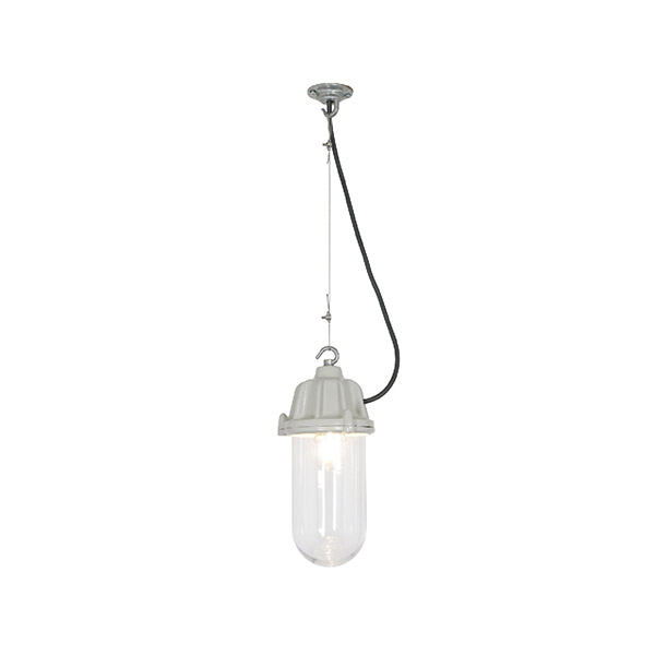 7674 Dockside Pendant With Clear Glass