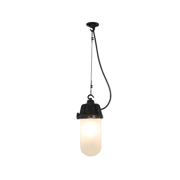 7674 Dockside Pendant With Frosted Glass
