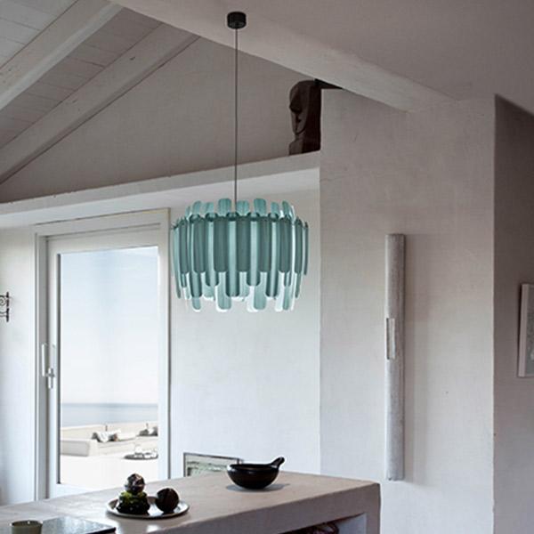 Maruja Suspension Lamp - Matt Black Canopy