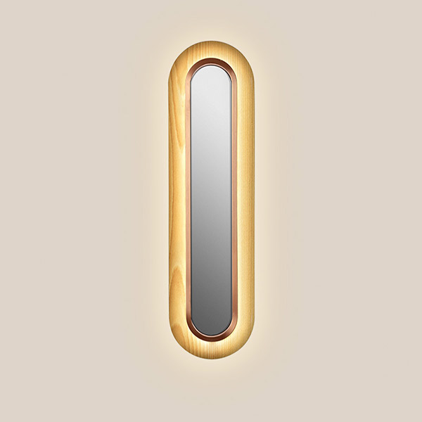 Lens Super Oval Wall Lamp - Copper