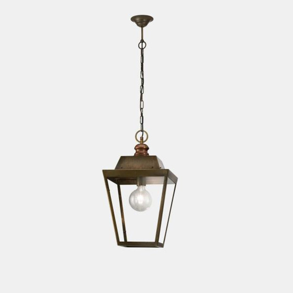 Quadro Small Outdoor Suspension Lamp