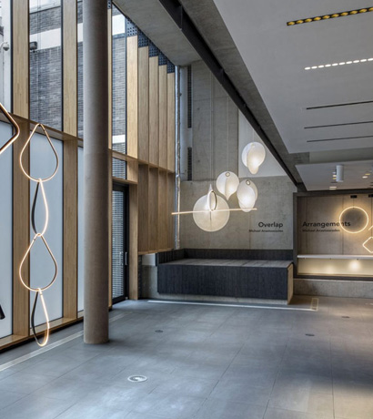 Flos introduces New Lighting Designs at Atrium in London