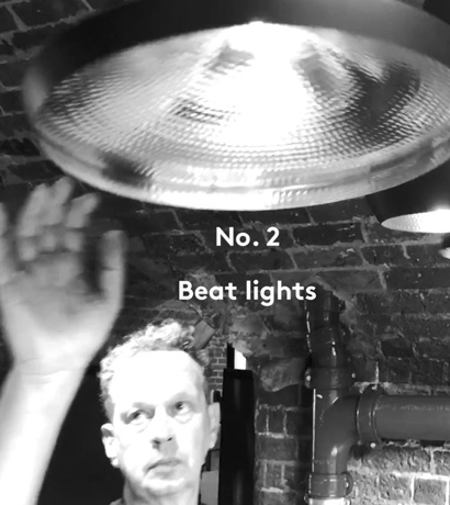 Tom Dixon's Beat Lighting