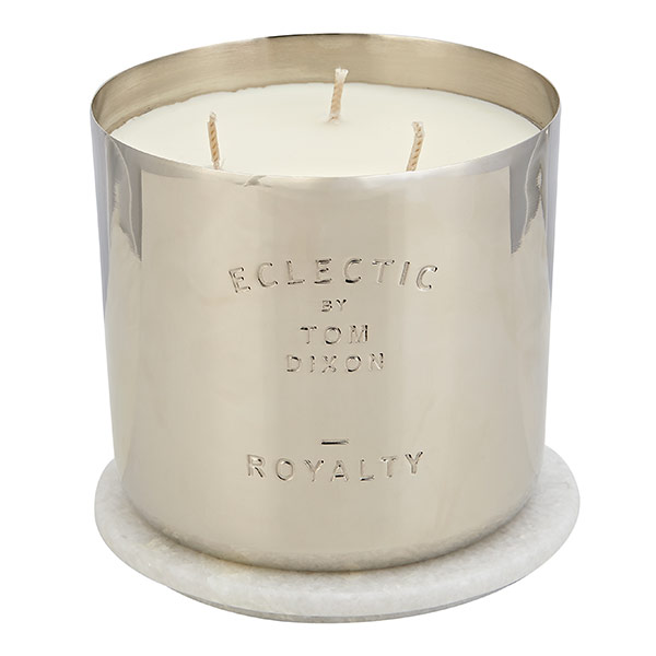 Eclectic Royalty Candle Medium Nickel